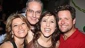 Liz Larsen, Tom Hewitt, Wonderettes star Farah Alvin and Ed Staudenmeyer party up on opening night.