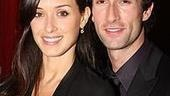 Romantic hero Aaron Lazar poses with his striking real-life heroine, wife Leann.