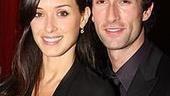 Romantic hero Aaron Lazar poses with his striking real-life heroine, wife Leann.