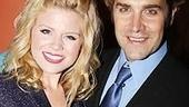 Aw! Megan Hilty snaps a sweet two-shot with her onstage honey, Charlie Pollock.