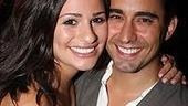 9 to 5 LA Opening - Lea Michele - John Lloyd Young