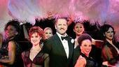 Tom Wopat as Billy Flynn and the cast of Chicago.