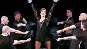 Bianca Marroquin as Roxie Hart in Chicago.