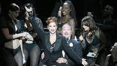 Tom Wopat as Billy Flynn, Bianca Marroquin as Roxie Hart and the cast of Chicago