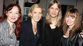 The ladies of August—Mariann Mayberry, Amy Morton and Sally Murphy—welcome their show's newest fan, Felicity Huffman.