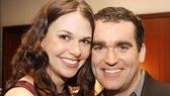 Shrek NYC Meet and Greet - Sutton Foster - Brian d'Arcy James
