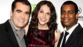 Shrek NYC Meet and Greet - Sutton Foster - Brian d'Arcy James - Daniel Breaker
