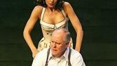 Katie Holmes as Ann Deever and John Lithgow as Joe Keller in All My Sons.
