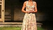 Katie Holmes as Ann Deever in All My Sons.