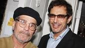 Playwright David Mamet Plows backstage with Jeff Goldblum, who starred in the shows acclaimed London production.