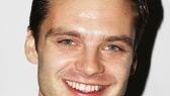 Sebastian Stan, so memorable in 2007's much-anticipated Broadway revival of Talk Radio, attends the most anticipated revival of fall 2008.