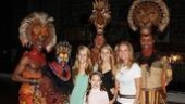 Kathie Lee Gifford and Phil Collins at the Lion King – Kathie Lee Gifford – Family Kids – Dashaun Young – Derek Smith – Nathaniel Stampley