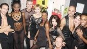 Charlotte d'Amboise and Tom Hewitt in Chicago -  cast