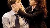 John Gallagher Jr. as Stephen and Olivia Thirlby as Molly in Farragut North