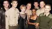 Chicago Celebrates Marines Birthday  Charlotte dAmboise  Brenda Braxton