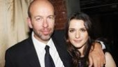 Producer Eric Fellner of Billy's Working Title Films catches up with actress Rachel Weisz—the two worked together on the 2003 film version of The Shape of Things.