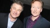 NBC hit men Alec Baldwin (of 30 Rock) and Conan O'Brien (of Late Night) lend their star power to Rosie's latest TV launch.