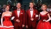 Kerry O'Malley as Betty Haynes, Stephen Bogardus as Bob Wallace, Jeffry Denman as Phil Davis and Meredith Patterson as Judy Haynes in White Christmas.