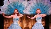 Kerry O'Malley as Betty Haynes and Meredith Patterson as Judy Haynes in White Christmas.
