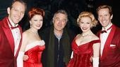Wow! De Niro's in the house, and White Christmas stars Stephen Bogardus, Kerry O'Malley, Meredith Patterson and Jeffry Denman couldn't be happier to say hello.