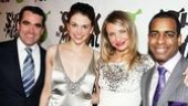 Shrek the Musical Opening Night  Sutton Foster  Cameron Diaz  Brian dArcy James  Daniel Breaker