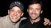Steven Spielberg and Hugh Jackman Go Green at Shrek the Musical – Hugh Jackman – John Tartaglia