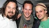 Wilson and Maguire at Rock of Ages  Tad Wilson  Patrick Wilson  Jeremy Woodard