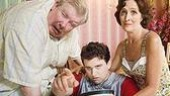 Richard Griffiths, Harry Melling & Fiona Shaw in Harry Potter and the Order of the Phoenix