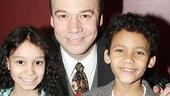 Danny Burstein Honored at Sardis  Danny Burstein  Luka Kain  Laurissa Romain