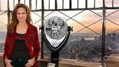 Melorda Hardin Lights the Empire State  Melora Hardin