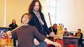 Rock of Ages Meet and Greet  Mitchell Jarvis  Constantine Maroulis