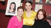 Sutton Foster Honored at Sardi's – Sutton Foster – Michelle Kittrell – Anne L. Nathan