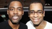 Chris Rock and Family at Shrek the Musical  Chris Rock  Daniel Breaker