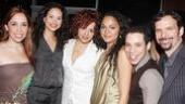 Heights stars Andrea Burns, Mandy Gonzalez, Janet Dacal, Robin De Jesus and Rick Negron surround their gal, Karen Olivo.