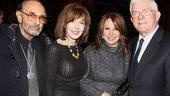 Stanley Donen, Elaine May, Marlo Thomas  and Phil Donahue keep it cool at the opening.