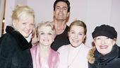 Julie Andrews at Blithe Spirit – Julie Andrews – Angela Lansbury – Christine Ebersole – Rupert Everett – Jayne Atkinson