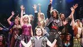 Mitchell Jarvis as Lonny and cast in Rock of Ages.