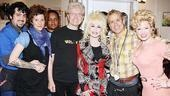 Dolly Parton and sister at 9 to 5 - Rachel Dennison - Dolly Parton - Megan Hilty - Paul Huntley