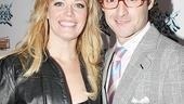 Rock of Ages Opening Night  Elizabeth Stanley  Max Von Essen
