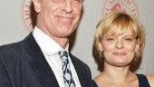 Its a family affair as father-daughter acting duo Keith Carradine and Martha Plimpton stroll in arm in arm. 