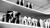 Megan Hilty backstage – shoes