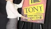 Sassy Martha Plimpton signs off with the official 2009 Tony poster. It's show time, indeed!