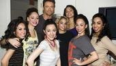 West Side Story at Regis and Kelly – Hugh Jackman – group