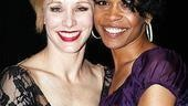 Michelle Williams and Chandra Wilson at Chicago  Charlotte dAmboise  Michelle Williams