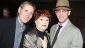 A trio of Tony winners, two of whom are 2009 nominees: Jim Dale, Billy Elliot's Carole Shelley and Waiting for Godot's John Glover.