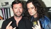 Hugh Jackman at ROA  Hugh Jackman  Constantine Maroulis