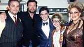 Hugh Jackman at ROA  Paul Schoeffler  Hugh Jackman  Wesley Taylor Lauren Molina  Michele Mais