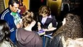Next to Normal stage door – Alice Ripley signing