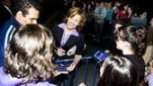 Next to Normal stage door – Ripley smiles
