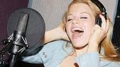 """9 to 5"" star Megan Hilty sings out at the May recording session"